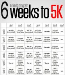5k training plan running