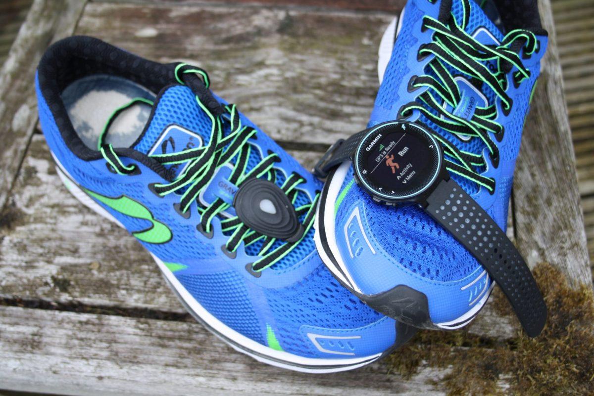 Newton Gravity 6 Running shoe Garmin 235 STRYD