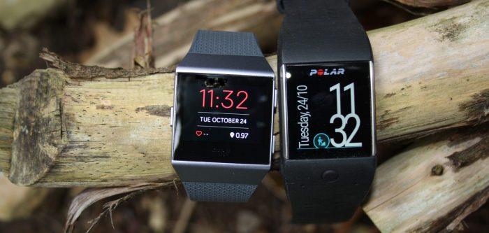 Fitbit Ionic & Polar M600