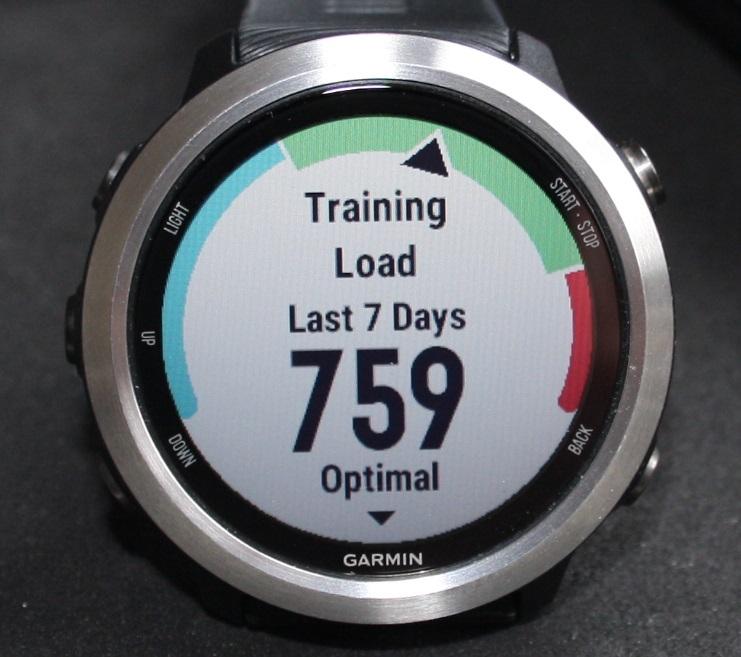 Training Load 645