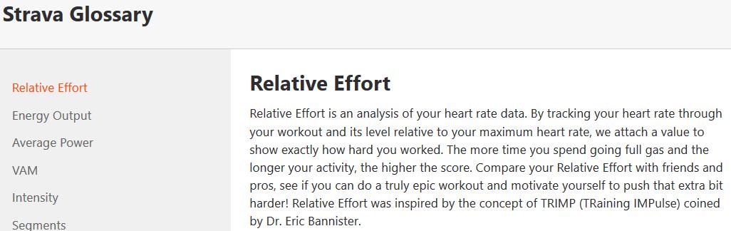 strava relative effort