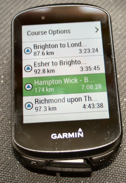 Garmin Edge 530 Review Training Plan