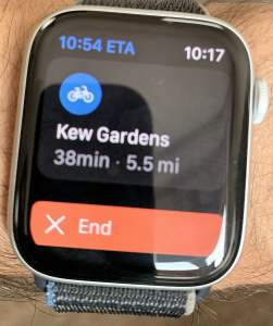 STRAVA app   Apple Watch Series 6