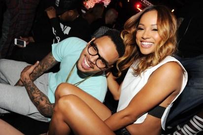 Chris Brown and Karrueche
