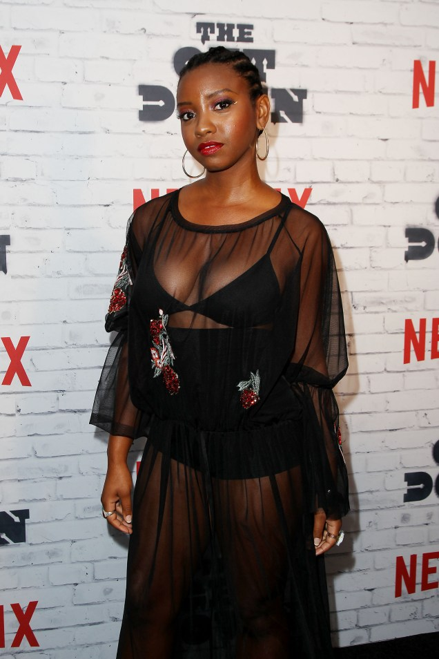 "- New York, NY - 4/5/17 - Netflix New York Kickoff Party for Part Two of ""The Get Down"" -Pictured: Stefanee Martin -Photo by: Patrick Lewis/Starpix -Location: Irving Plaza"