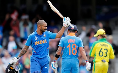 India batted well against former world cahmpion Australia.