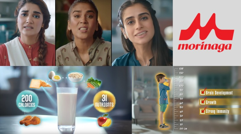 Morinaga could have talked about the issue of malnutrition in Pakistan.