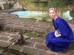 Krabi, Tiger Temple - full of monkeys!