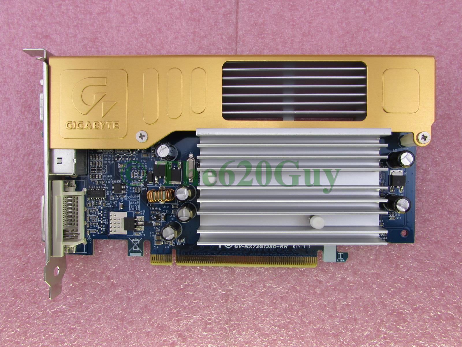 GIGABYTE GV-NX73G128D WINDOWS 7 DRIVER DOWNLOAD