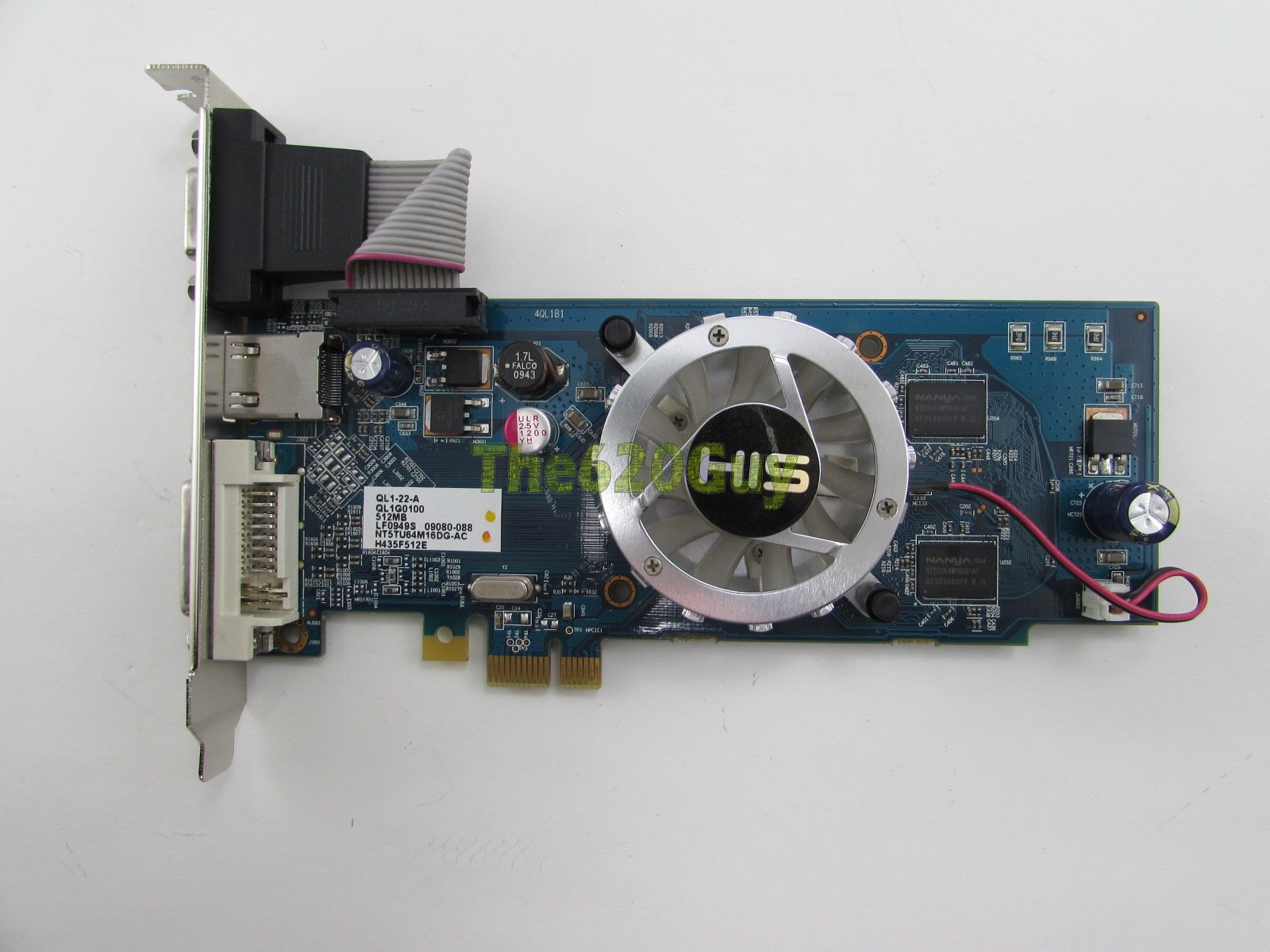 HIS H435F512E ATI Radeon HD 4350 512MB DDR2 VGA/DVI/HDMI PCIe x1 Video Card  GPU - The620Guy com
