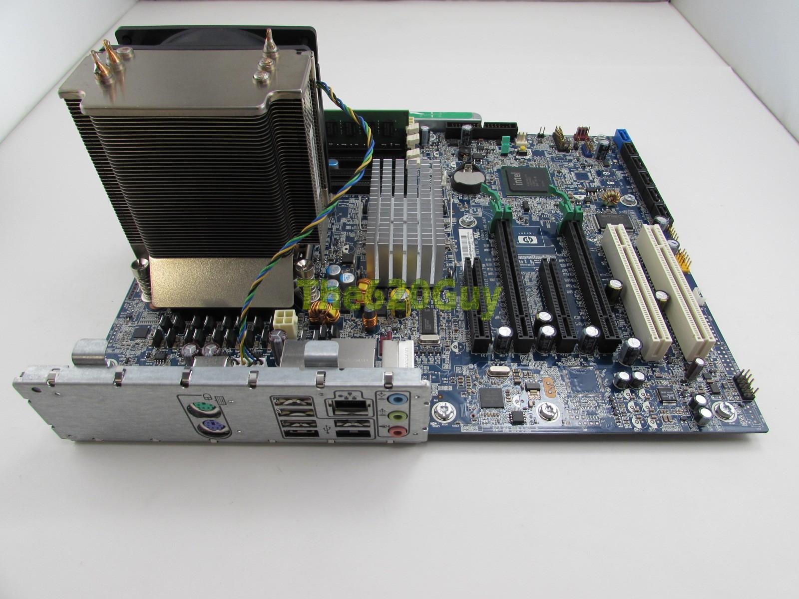 HP Z400 Workstation Motherboard 461438-001 + Xeon W3520 2 67GHz CPU + 2GB  RAM