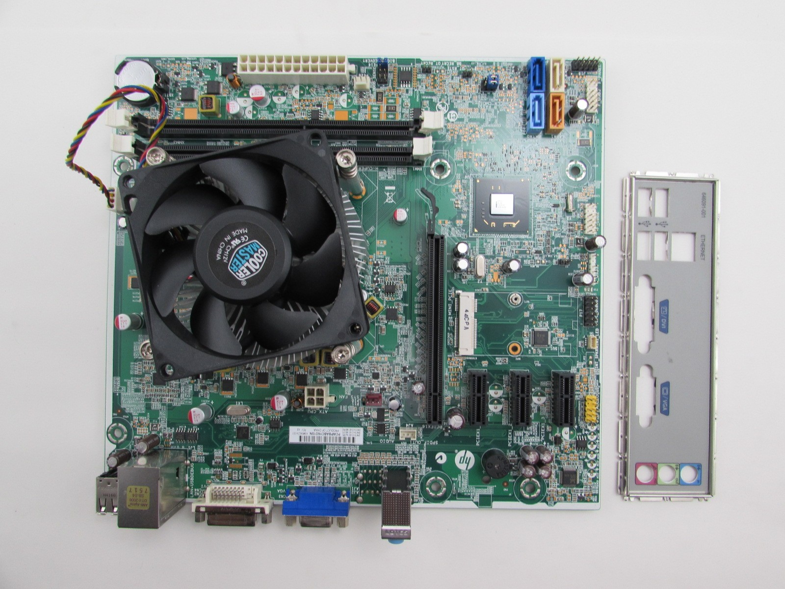 HP Pro 3500 MT 696234-001 Cupertino Motherboard + i3-3240 3 5GHz CPU +  HSF/IO - The620Guy com