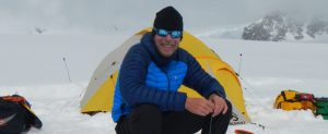 Enjoining the camp on Denali