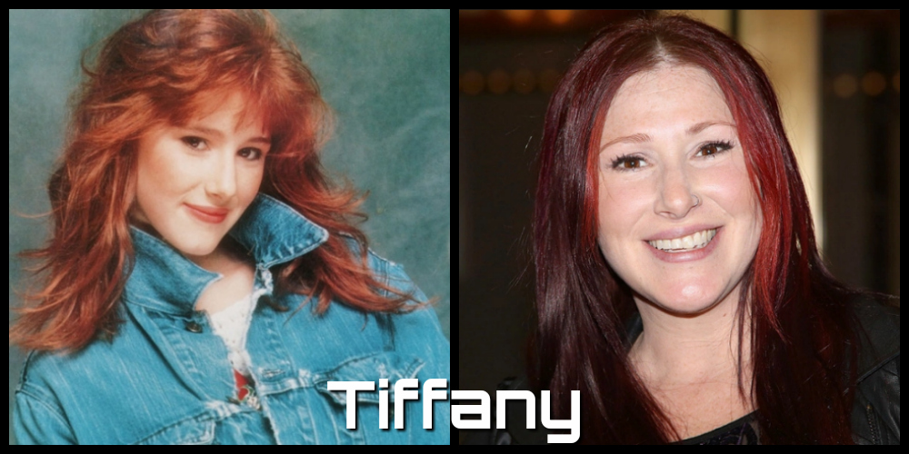 tiffany then and now