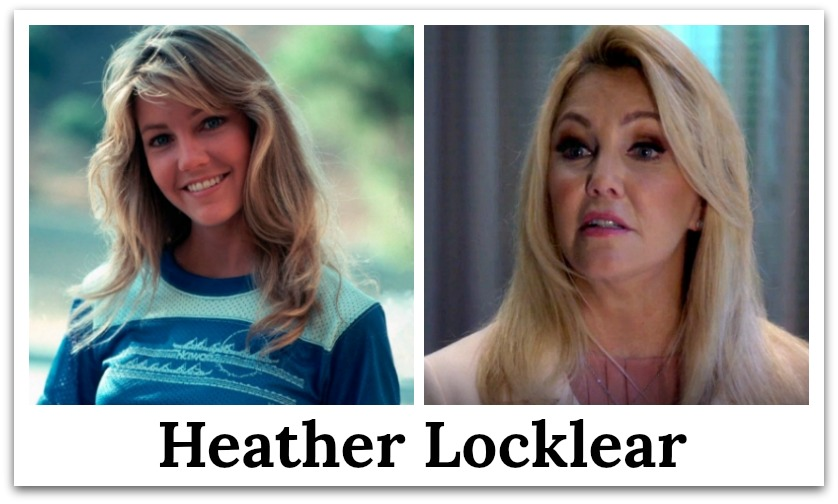 heather locklear then and now