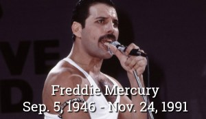 Freddie Mercury - 80's Superstar Gone Way Too Soon