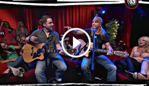 Bret Michaels Live, Acoustic and Uncensored Singing 'Every Rose Has It's Thorn'