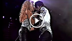 Michael Jackson - 'I Just Can't Stop Loving You' Live at Wembley Stadium Featuring Sheryl Crow