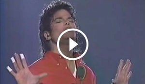 Whitney Houston and Michael Jackson Performing 'One Moment In Time' & 'You Were There' Live
