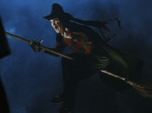 Freddy as The Wicked Witch of the West from Freddy's Dead