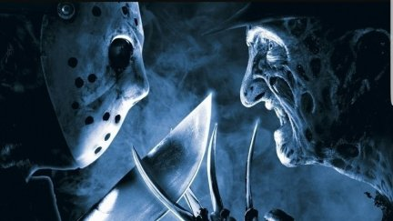 Promotional Image for Freddy Vs. Jason - Jason and Freddy face off