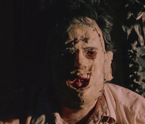Leatherface still from The Texas Chainsaw Massacre