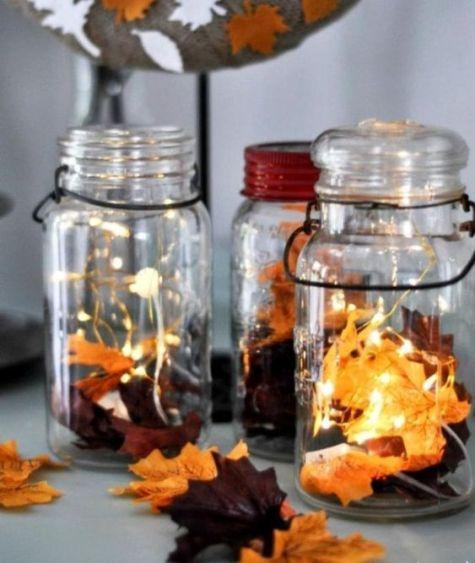 Photophore automne