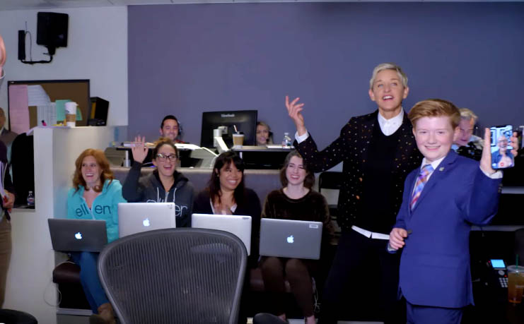 Alex Knoll, iPhone X review, Ellen Show, Ellen DeGeneres, Alex Knoll Review
