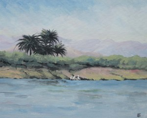 Egypt:The river Nile