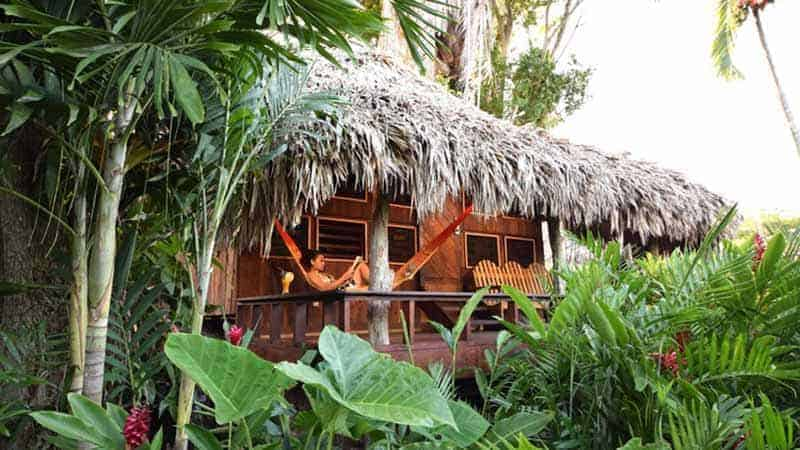 photo of lamanai outpost cabana