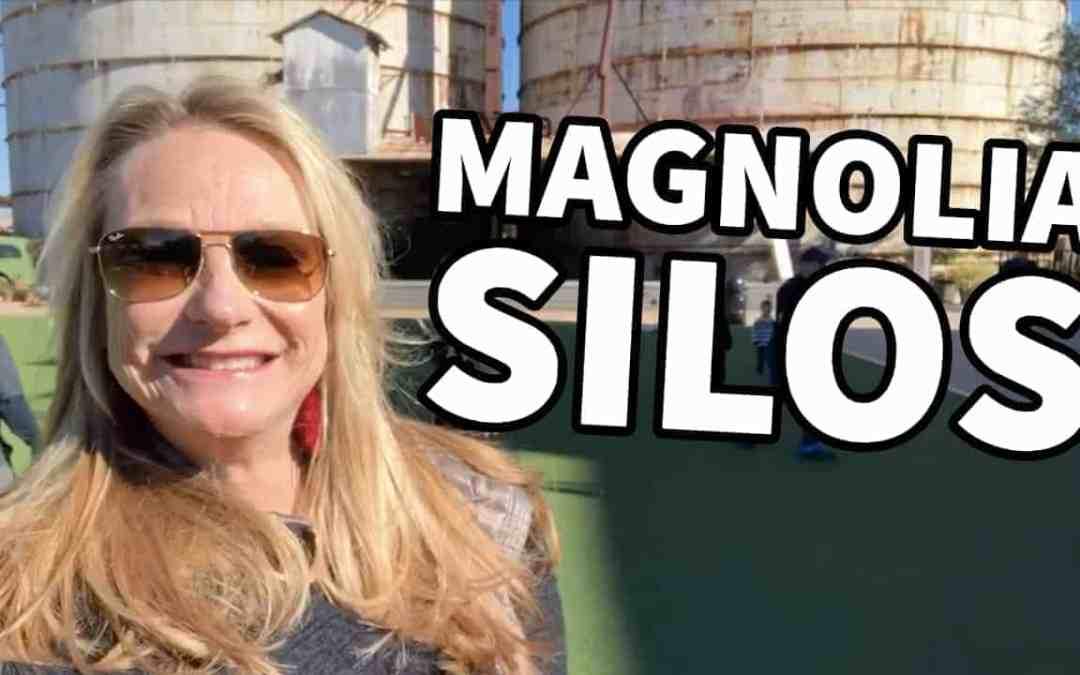VISITING MAGNOLIA SILOS IN WACO, TEXAS