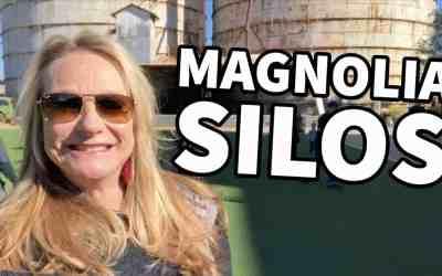VISITING MAGNOLIA SILOS IN WACO, TEXAS