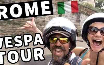 VESPA TOUR OF ROME