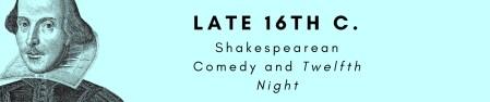 Shakespearean Comedy (banner)