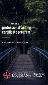 UL English Department Professional Writing Certificate