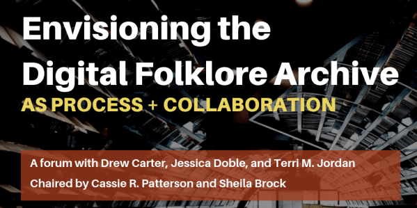Jessica Doble American Folklore Society (twitter)