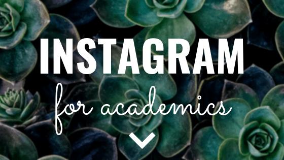 Instagram for Academics