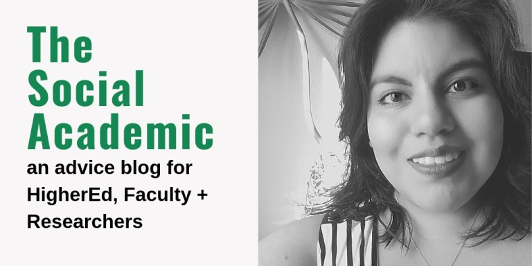 The Social Academic @HigherEdPR: an advice blog for HigherEd, faculty and researchers