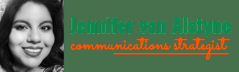 Jennifer van Alstyne, communications strategist