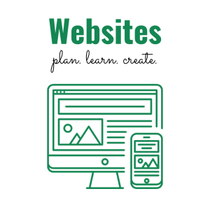 Websites: plan, learn, create