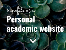 Benefits of a Personal Academic Website | The Social Academic