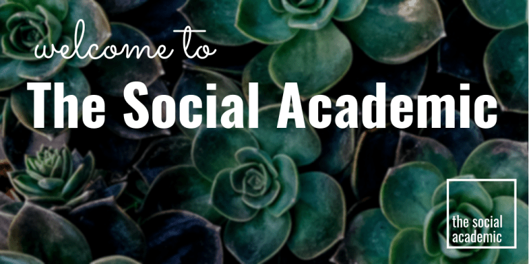 Welcome to The Social Academic