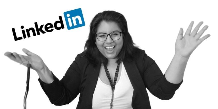 Jennifer talks about Linkedin