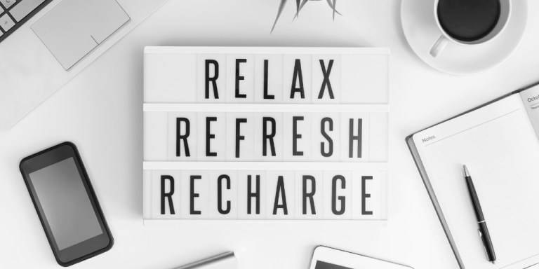 Relax, refresh, recharge