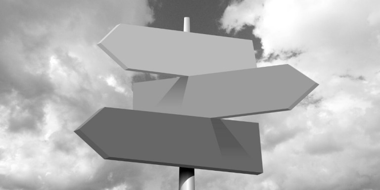 signposts pointing different directions