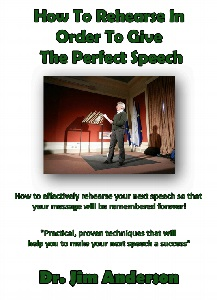 New Book: How To Rehearse In Order To Give The Perfect Speech