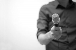 A microphone is a powerful tool, but you have to know how to use it