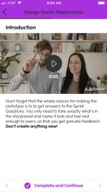 Dee and Jonathan on Teachable App