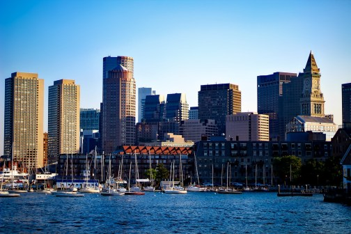 Boston Skyline - Service Design Week