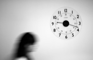 In a negotiation, time is power